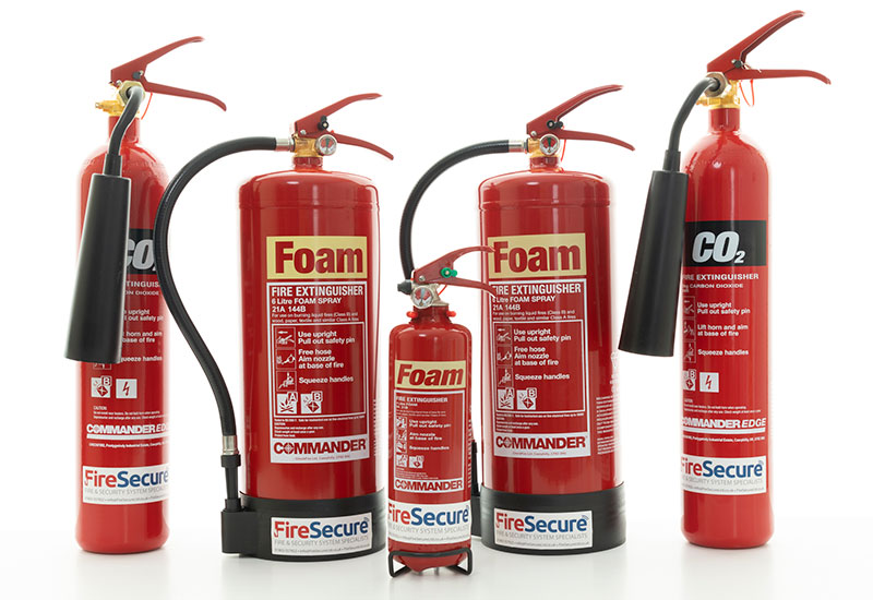 Fire Extinguishers from Fire Secure