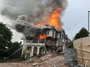 shedden hall fire